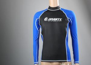 China Fleece Swim Shirt Boys Lycra Rash Guard  SPF Surfing  T-shirt Windsurf Shirt on sale