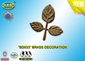 China Ref No BD033 Brass Leaf Tombstone Decoration Bronze Leaves Material Copper Alloy on sale