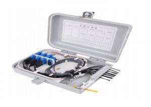 China Wall Mount Outdoor Fiber Termination Box, 16 Fiber Optical Fiber Distribution Box on sale