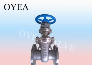China Cast Steel Non-Rising Stem Gate Valve on sale