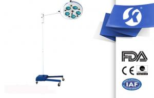 China Hospital Cold Overhead Operating Theatre Lights , Portable Surgical Lights on sale
