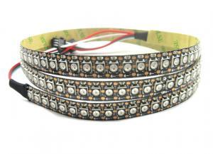China Decorative Digital LED Strip Lights , Programmable RGB LED Strip Lighting 144led/M on sale