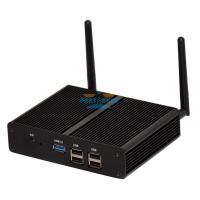Smallest Barebone Mini PC Quad Core Gigabit Lan 2.41GHz Dual HD Industrial Computer
