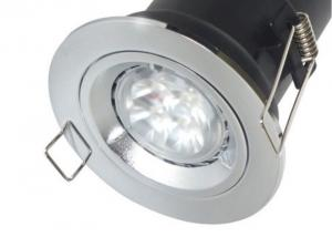 LED FIRE RATED 5W LED GU10 TILT RECESSED CEILING SPOT LIGHTS DOWNLIGHTS 240V