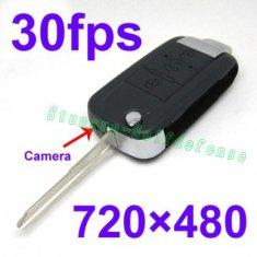 Quality Motion Detection spy car key chain camera for sale