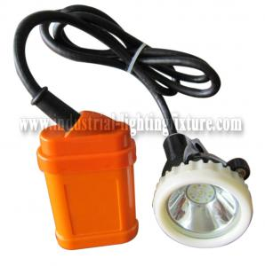 China Mini High Power LED Mining Light KJ3.5LM 4500Lux With 6 Pcs SMD LED on sale