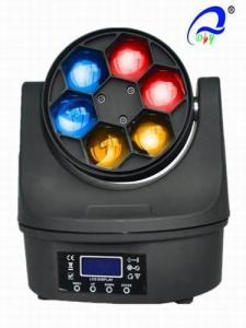 China Dj Stage 6 Pcs 12W Bee Eye LED Wash Moving Head RGBW 4in1 50000 Hours Life Span on sale