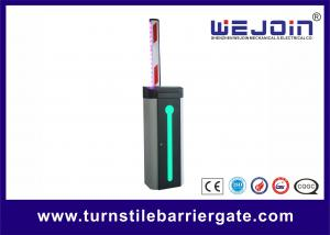 China Automatic Car Park Barrier Gate with Protective Rubber and LED Traffic Light Boom on sale
