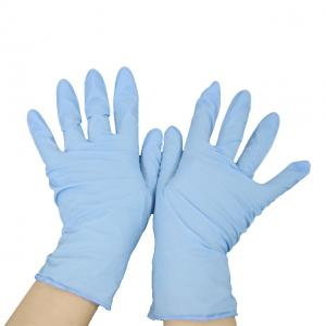 China Powder Free Protective Skin Disposable Nitrile Gloves on sale