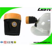 10000lux Rechargeable Led Mining Cap Lamp 3.8Ah Battery Capacity With USB Charger