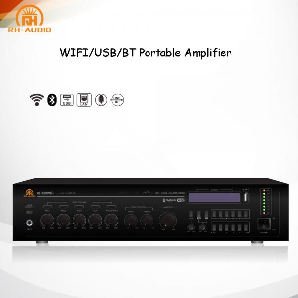 RH-AUDIO Power Amplifier with WIFI BT USB for Multiroom