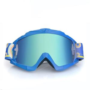 China Comfortable Motocross Goggles UV400 Protection With Anti Slip Silicone Strap on sale