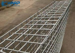 China Low Carbon Galvanised Gabion Baskets ISO9001 SGS Certification Easy Installation on sale