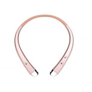 China Cordless Bluetooth Neckband Headphones Retractable Wireless Bluetooth Headset on sale