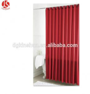 China New product Heavy duty Plain style Plastic shower curtain liner/PEVA bath curtain with metal grommets on sale