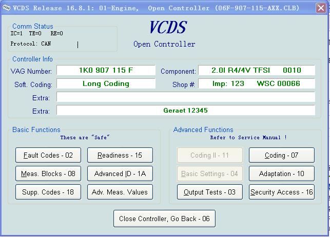 VAG COM 16 8 1 Crack Cable VAGCOM VCDS 16 8 1 full support