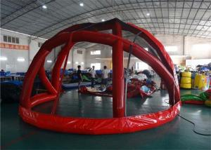 China Baseball Batting Backstop Large Inflatable Tents For Street Performance on sale