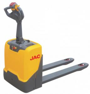 China Electric Walkie Pallet Jack / Indoor Equipment Small Pallet Truck 1.5 Ton Capacity on sale