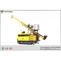 Compact Crawler Drill Rig , Hydraulic Core Drilling Machine With BQ Drill Depth 1000m