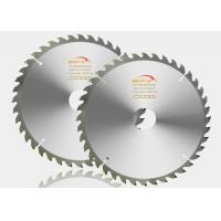 Trimming Wood TCT Saw Blade 200x40Tmm With Alloy Steel / CrN Finishing