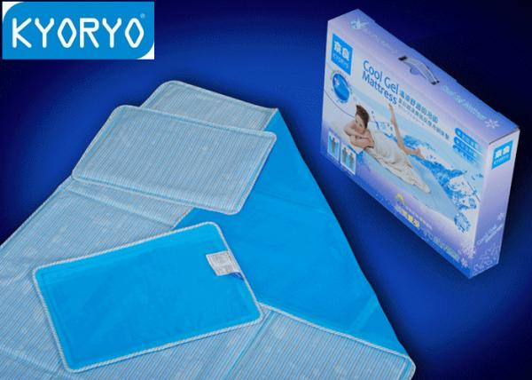 OEM Solid Fluid Bed Cooling Gel Pillow Pad With Water Proof EVA