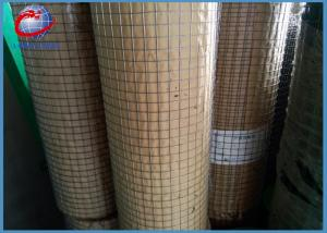 China Hot Dipped Welded Wire Sheets , Galvanized Steel Welded Wire 1.22 X 25m on sale