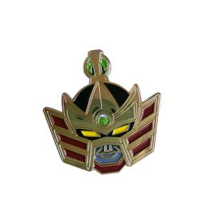 China Transformers Mask Customized Made Lapel Pin Badge Manufacturer on sale