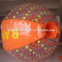 PVC Plastic Water Inflatable Zorb Ball For Amusement Park Equipment