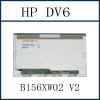 China 15.6 1366*768 GLOSSY LCD SCREEN B156XW02 V2 REPLACEMENT LAPTOP LCD SCREEN FOR HP DV6 on sale