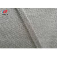 China Waistcoats Knitted  Fabric Sports Jersey Fabric With Smooth Surface on sale