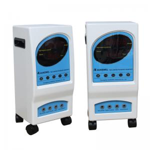 China Professional Rectangle Electrostatic Therapy Machine With Blue White Wheel on sale
