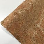 Elastic Cork Leather Fabric Eco Frienldy Waterproof High Heat Resistance