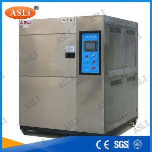 China Three Zone Programmable Cold Thermal Shock Testing Chamber  with touch screen controller on sale