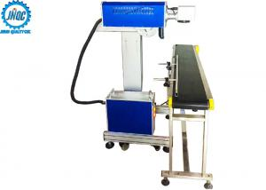 China Online Flying CO2 Laser Marking Engraving Machine For Batch / Mass on sale