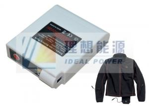 China 11.1v White Heated Jacket Battery With Smart Temperature Control on sale
