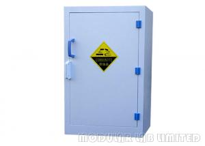 China Capacity 50kg Chemical Storage Cabinets Single / Double Door Containing Accidental Spills on sale