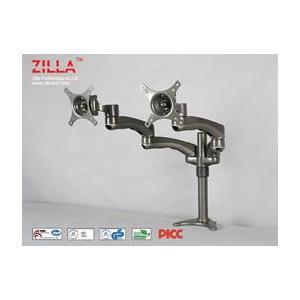 China Grommet Mounts Product  DEK Dual Desk Mount LCD Arm on sale