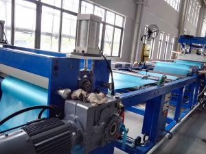 China Soft Plastic Sheet Extrusion Machine , Flexible PVC Sheet Extrusion Equipment Production Line on sale