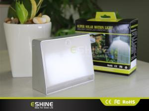 China Remote Control Solar powered motion light  ELS 2.2W CE Warm White for Mailbox on sale