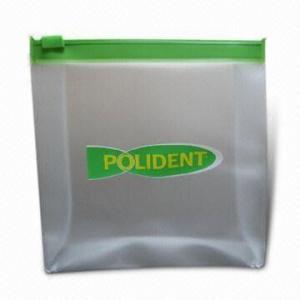 China Transparent Plastic Reusable Zipper Bags Custom Printed Strong Sealing on sale