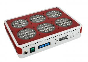 China 216w dimmable led aquarium lighting white/bule color with remote controller on sale
