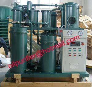 China Lubricant oil filtration unit,Vacuum Oil Purifier,Used oil water vacuum separator, Cleaning  lube oil renewable machine on sale