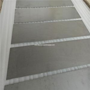 China Hot rolled Gr5 ti6al4v  titanium sheet metal with acid washing surface on sale