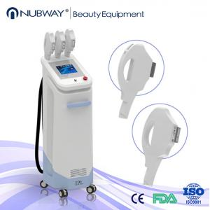 China 1800W 3 handles IPL beauty equipment for hair and skin removal with competitive price on sale