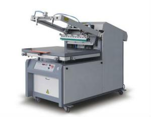 China Microcomputer Control Flat Bed Screen Printing Machine , Screen Printing Press Machine Allfine on sale