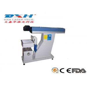 China 15W Co2 Laser Marking Machine for Food Package,Bottle Package,Medical Packaging Marking Logo, Production Number, Date on sale