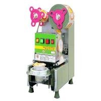 China Automatic Plastic Cup Sealing Machine for Milk Tea/Juicer/Bubble Tea on sale