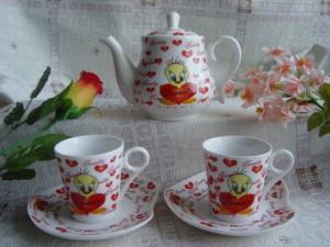 China Bone China Tea Set on sale
