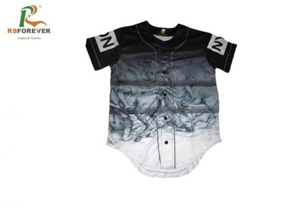 418b6397802 Blank Custom Team Sportswear Gradient T Shirt Uniforms For Baseball Team  Images