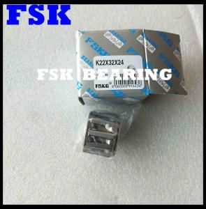 China K22X32X24 Needle Roller Bearings Cage Assembly Gcr15 Chrome Steel Radial Load on sale